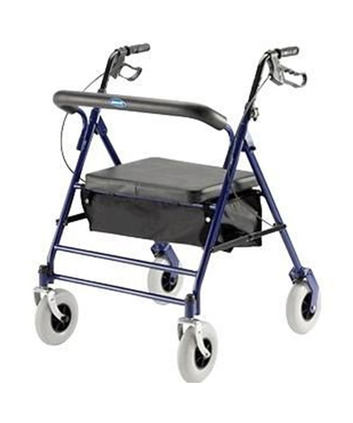 Bariatric-Rollator-with-Carry-Pouch