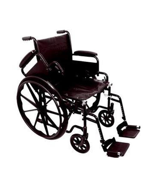 Patient Wheelchair, Standard, 20 x 16